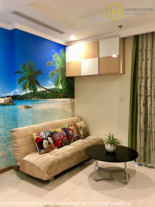 Beautiful decorated 1 bedroom apartment in Vinhomes Central Park
