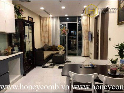 Homey with 1 bedroom apartment in Vinhomes Central Park for rent