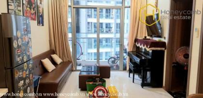 Fully furnished 1 bedroom apartment in Vinhomes Central Park