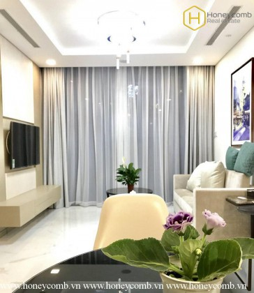 Modern decorated with 2 bedrooms apartment in Landmark 81