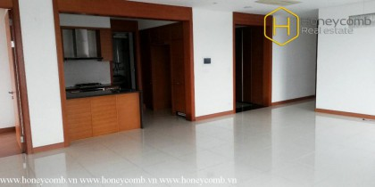 3-bedroom apartment without interior in Xi Riverview Palace