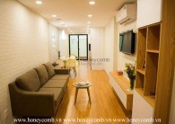 Fully-furnished service apartment with cozy atmosphere for rent in Aster Residence - District 2