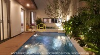 Unique architecture! The spacious Villa with contemporary taste in District 2 for rent