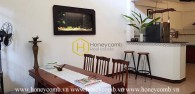 Well-designed villa with old-fashioned layout for lease in Truc Duong street – District 2