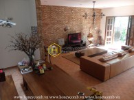 Charming villa with cottage design for rent in Thao Dien – District 2