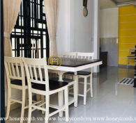 The colorful and youthful designed House in District 2 for rent