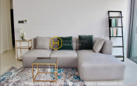 Simple and comtemporary design apartment for rent in City Garden