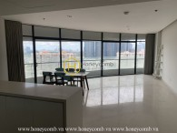 Large living space with this minimalist apartment for rent in City Garden