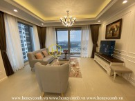 Enjoy the peaceful morning by panoramic river view with British furnished apartment in Diamond Island