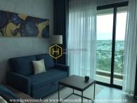 Fully-furnished apartment with modern subtle layout for rent in Feliz En Vista