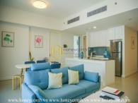 Contemporary fully furnished apartment in The Gateway Thao Dien