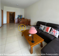 Old-fashioned style apartment for rent in Sai Gon Pearl