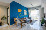 Artistic design apartment with must-have amenities for rent in Masteri An Phu