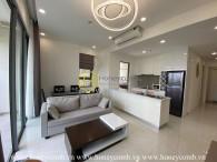 Căn hộ 2 phòng ngủ với phong cách hiện đại tại Masteri An Phú cho thuê