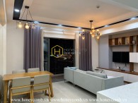 Masteri Thao Dien 2-bedrooms apartment with modern style