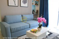 Well-decorated apartment with colorful furnishings for lease in Masteri Thao Dien