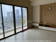 The unfurnished apartment with good price for lease in Masteri Thao Dien