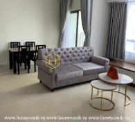 Căn hộ được trang bị đầy đủ nội thất cho thuê ở Masteri Thao Dien