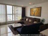 You'll be lost for words when seeing this elegant apartment in Thao Dien Pearl