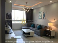 Full living facilities apartment with modern design in Tropic Garden for lease