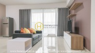 Modern design apartment with clean-lined silhouette furnishings for rent in Vista Verde
