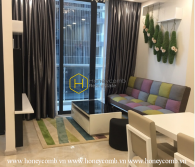 Simplified layout but lovely design apartment for rent in Vinhomes Golden River