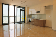 Design your own home – Spacious & Unfurnished apartment in Vinhomes Golden River for lease