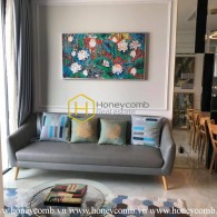 Outstanding apartment with subtle furniture for rent in Vinhomes Golden River