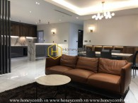 Let enjoy spectacular view with this elegantly designed Penthouse in Vinhomes Central Park for rent