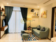 Pretty apartment with lovely decor is waiting for new owners in Vinhomes Central Park