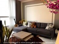 Impressive layout , lovely decor apartment with stunning river view in Vinhomes Central Park