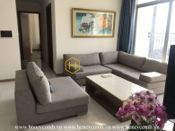Rustic design apartment with panoramic views for rent in Vinhomes Central Park