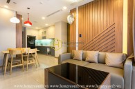 Innovative design apartment with contemporary style for rent in Vinhomes Central Park