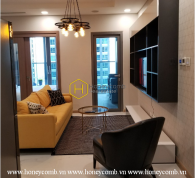 Live the lap of luxury lifestyle with this classy apartment in Vinhomes Landmark 81