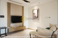 Luxury apartment with subtle layout for rent in Vinhomes Central Park