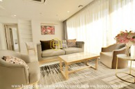 Luxury design apartment with large living space in Waterina Suites for rent