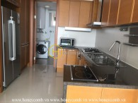 The unfurnished apartment with breathtaking river view in Xi Riverview Palace for rent