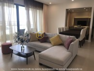 Beautifully decorated apartment with elegant interior for rent in Gateway Thao Dien