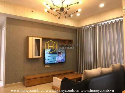 Simple and modern style apartment for rent in Masteri Thao Dien