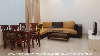 Welcoming serviced apartment in District 2 for lease