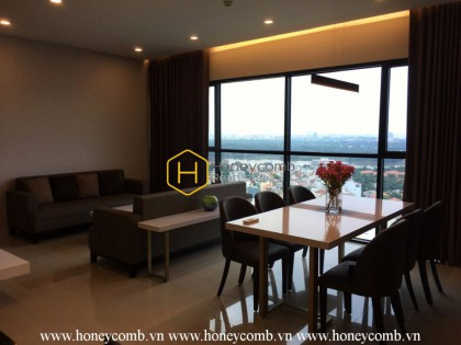 Contemporary apartment with large living space for rent in The Ascent