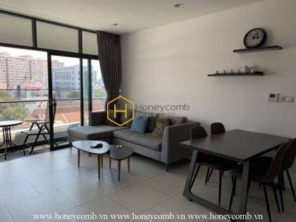 Nice furniture with 1 bedroom apartment in City Garden for rent