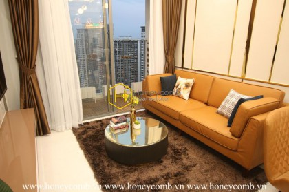Exquisitive layouts with modern design apartment for lease in Masteri An Phu
