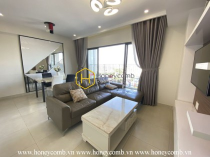 2-beds apartment with balcony and high floor in Masteri Thao Dien