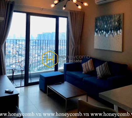 Beautiful 2 beds apartment with nice furnished in Masteri Thao Dien