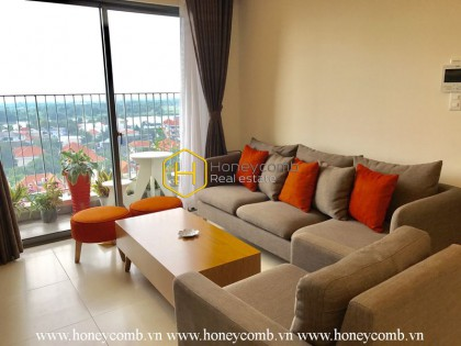 Luxury decoration 3 beds apartment with river view in Masteri Thao Dien