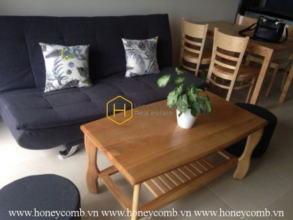 Exquisite apartment with beautiful minimalist style in Masteri Thao Dien for rent