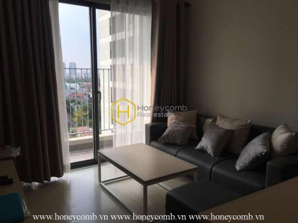 Nicely-equipped apartment in Masteri Thao Dien is still waiting for new owner! Now for lease!