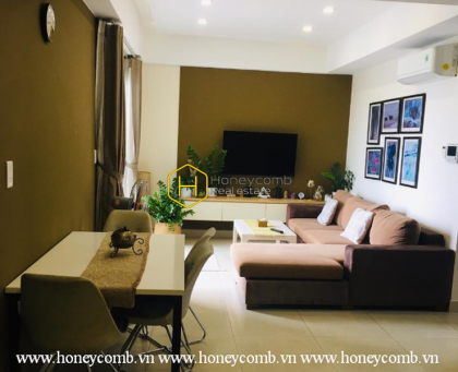 The 2 bedrooms-apartment in Masteri Thao Dien- Nicely designed with affordable price