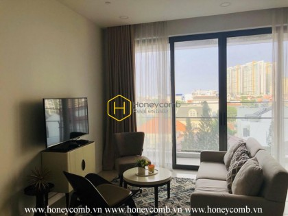 Luxury design apartment with stunning furnishings for rent in The Nassim Thao Dien